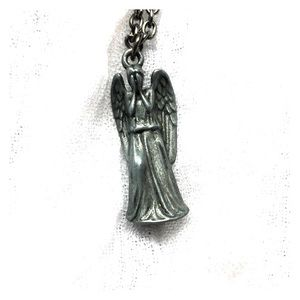 Jewelry - Dr Who Weeping Angel necklace